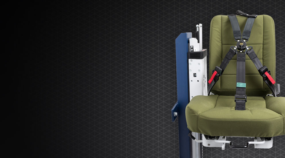 military vehicle seats