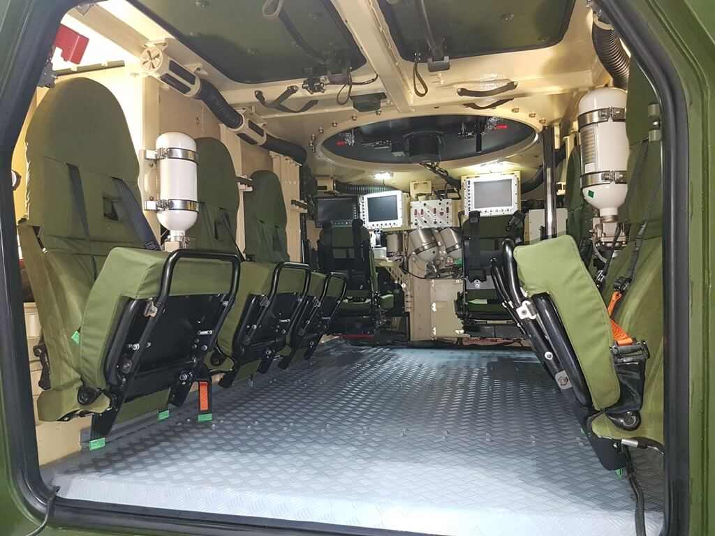 The Story Behind MRAP Seats – MOBIUS Protection System