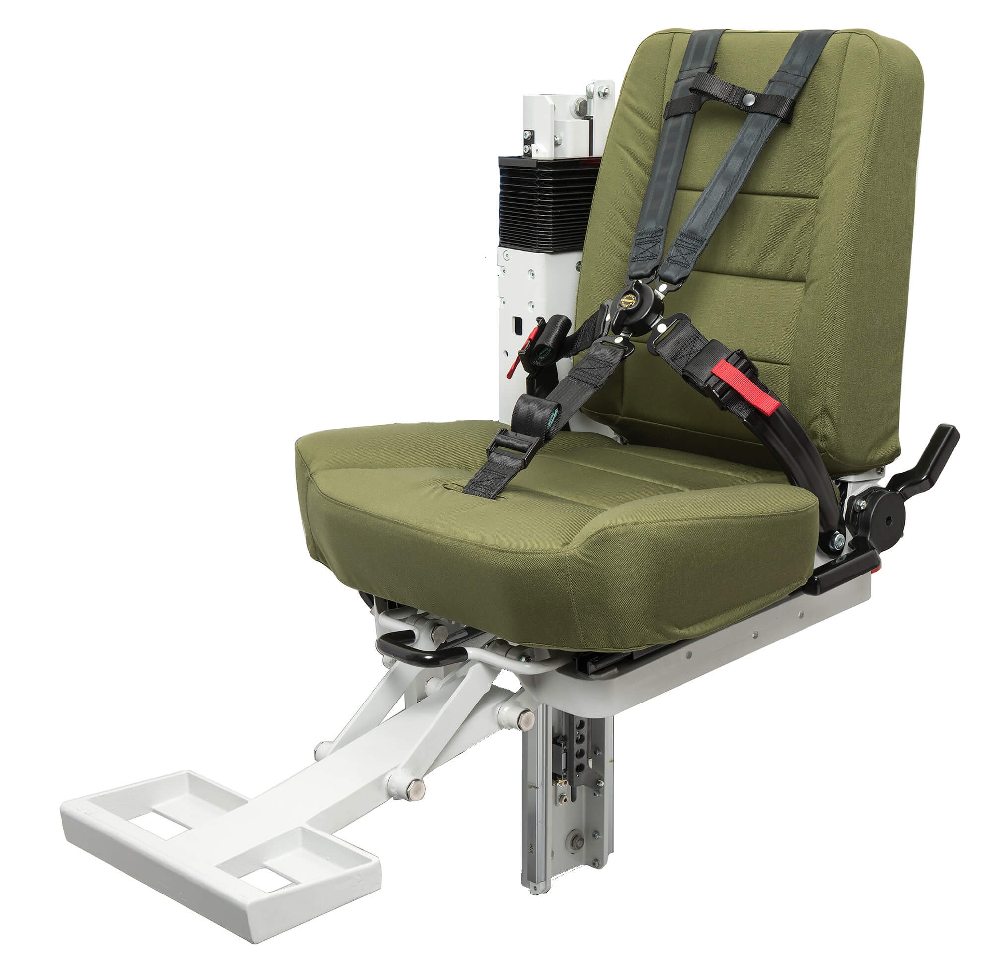 Essentials of Military Seat Belts – MOBIUS Protection System